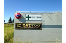 - Architectural & Company Signage - Business Sign - The Top Shelf - Burlington, WA